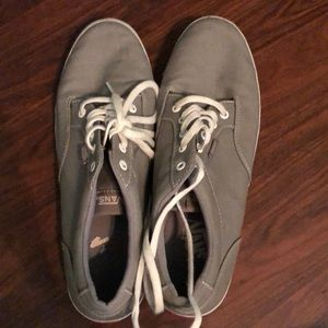 Vans gray tennis shoes